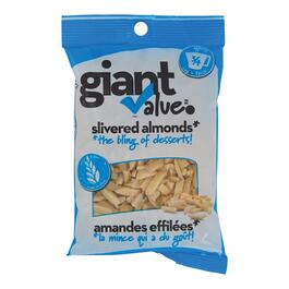 Giant Value Silvered Almonds - 100g