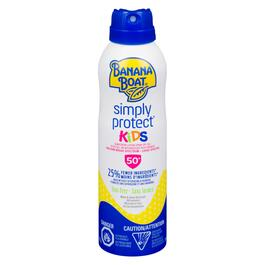 Banana Boat Simply Protect Kids Sunscreen Spray SPF 50+ - 170g
