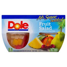Dole Fruit Salad with Extra Cherries 4pk. - 428ml