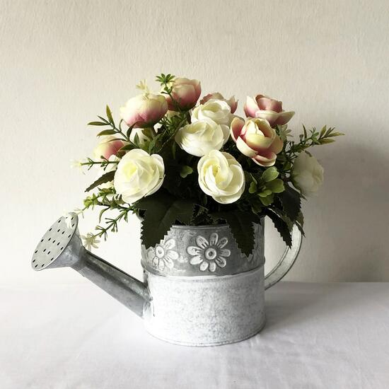 Ranunculus Tin Watering Can