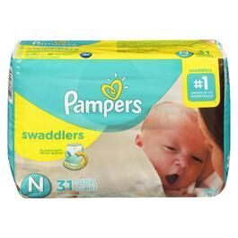 Pampers Newborn Swaddlers - 31pk.
