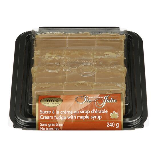 Ste Julie Cream Fudge with Maple Syrup - 240g