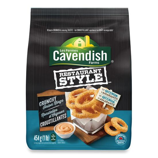 Cavendish Farms Restaurant Style Crunchy Onion Rings - 454g