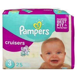 Pampers Cruisers - 25pk.