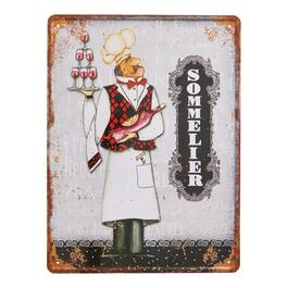 French Metal Wall Sign - 15in.