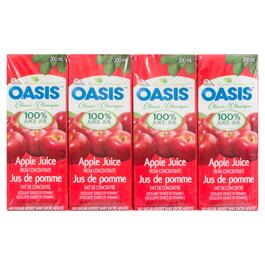 Oasis Classic Apple Juice 8pk. - 200ml