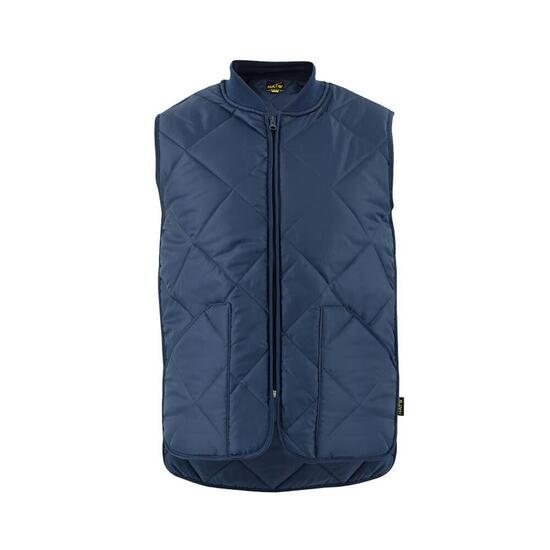 NAT'S Navy Men's Padded Work Vest - S-XXL