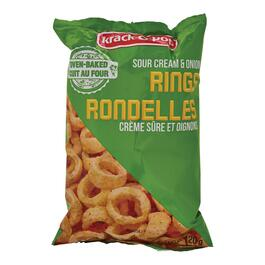 Krack O Pop Sour Cream and Onion Rings - 130g
