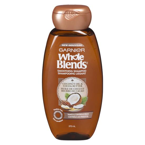 Garnier Whole Blends Coconut Oil and Cocoa Butter Shampoo - 370ml