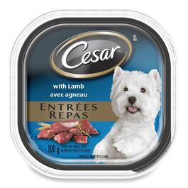 Cesar Entrées with Lamb for Small Dogs - 100g