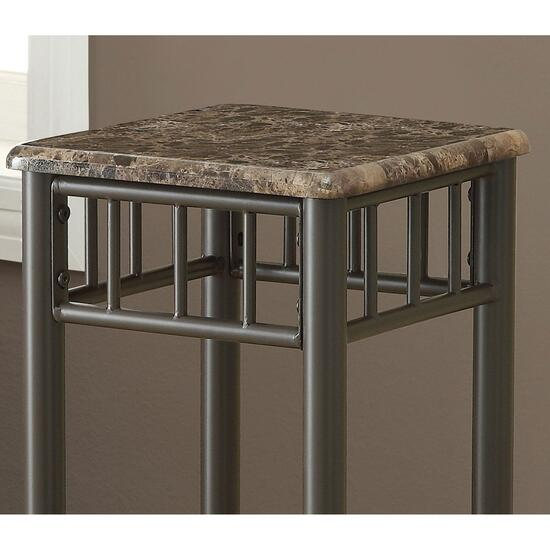 Monarch Specialties Inc. Accent Table - Bronze