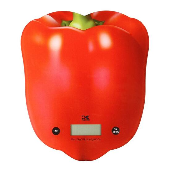 Kalorik Kitchen Scale - Red Pepper
