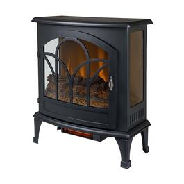 Curved Front Panoramic Stove Glass Front - 25in.