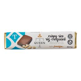 Queen T Crispy Rice Chocolate Bar - 42.5g