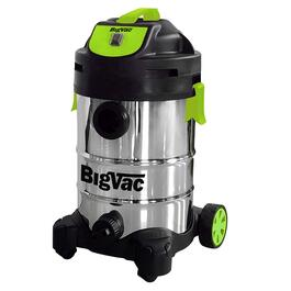 Big Vac 8 Gallon Wet/Dry Stainless Steel Vacuum