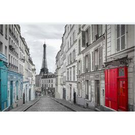 Red Door Canvas Art - 36in.