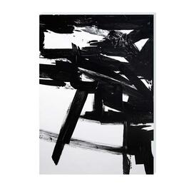 Black and White World Canvas Art - 18in. x 24in.