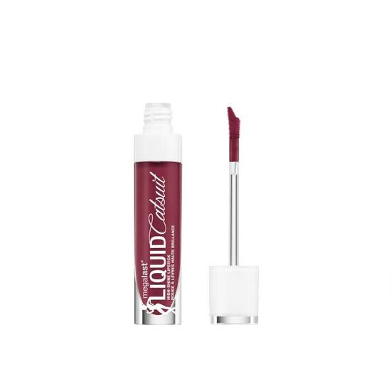 Wet n Wild MegaLast Liquid Catsuit High-Shine Lipstick - Wine Is The Answer