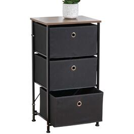 HomeStyles 3-Tier Storage Unit with Bins