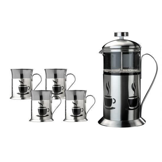 BergHoff French Press Coffee Set - 5pc.