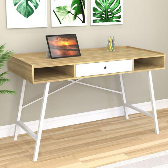 Safdie & Co. Natural Computer Desk - 49in.