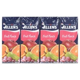 Allen's Fruit Punch 8pk. - 200ml