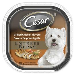 Cesar Entrées Grilled Chicken Dog Food - 100g