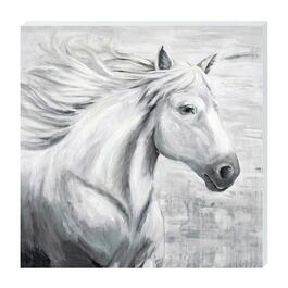 Horse In Tral Canvas Art - 24in. x 24in.