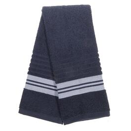 Cassie Blue and White Bathroom Towel Set - 7pc.