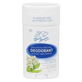 Green Beaver Natural Unscented Deodorant Stick - 50g