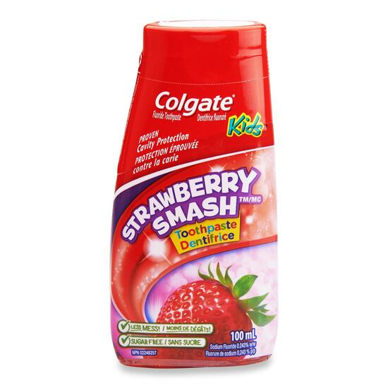 Colgate Liquid Gel Kids Strawberry Smash Toothpaste - 100ml