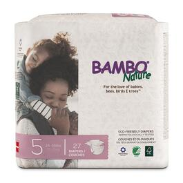 Bambo Nature Size 5 Baby Diapers 6 x 27pk.
