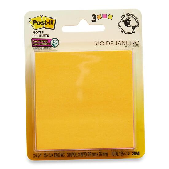 3M Post-It Notes - 3pk.
