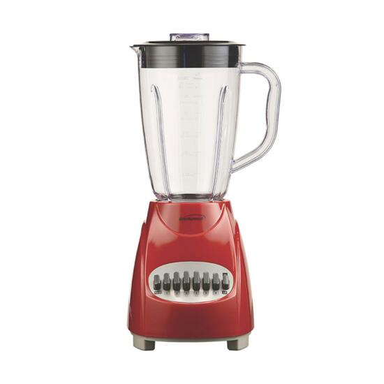 Brentwood Red 12-Speed and Pulse Blender