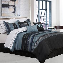 Safdie & Co. Vanguard Double Premium Comforter Set  - 7pc.