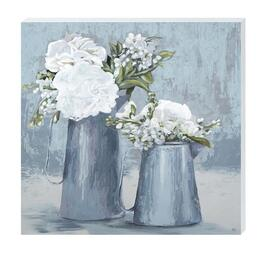 Flower Pot Canvas Art - 18in. x 18in.