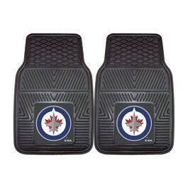 NHL Winnipeg Jets Vinyl Car Mat Set - 2pc.