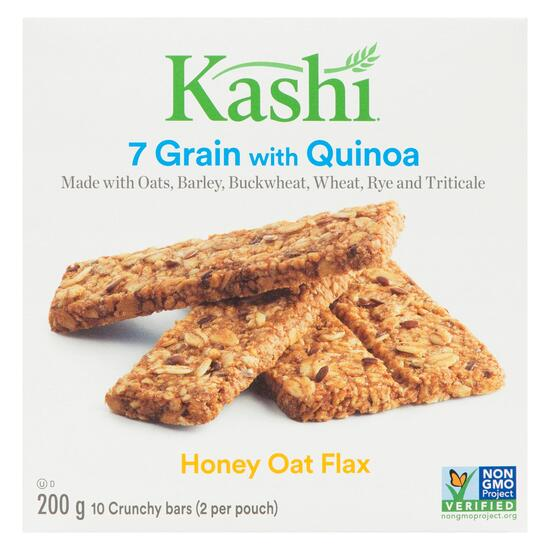 Kashi 7 Grain Quinoa Honey Oat Flax Bars 10pk. - 200g