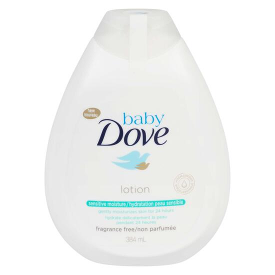 Baby Dove Sensitive Moisture Lotion - 384ml