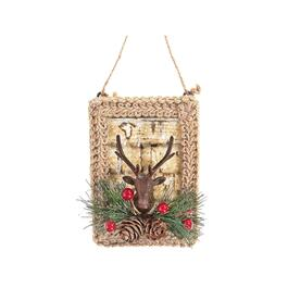 IH Casadécor Birch Deer Head Ornaments - 12pc.