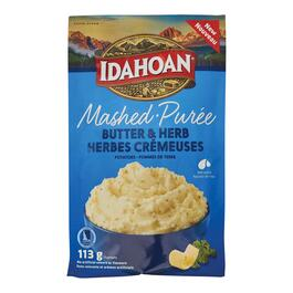 Idahoan Butter and Herb Mashed Potatoes - 113g