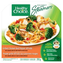 Healthy Choice Gourmet Steamers Grilled Chicken Red Pepper Alfredo - 292g
