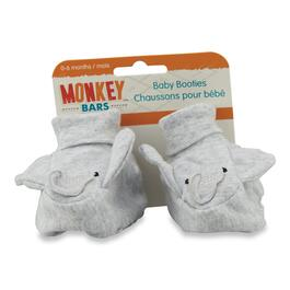 MONKEY BARS Infant Elephant Booties - One Size