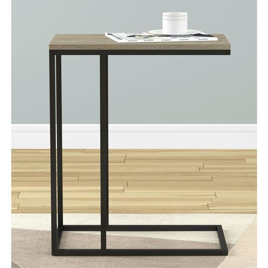 Safdie & Co. Dark Taupe Accent Table - 24in.