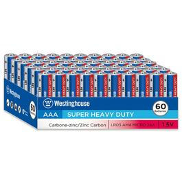 Westinghouse AAA Batteries - 60pk.