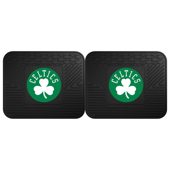NBA Boston Celtics Vinyl Utility Mat Set - 2pk.