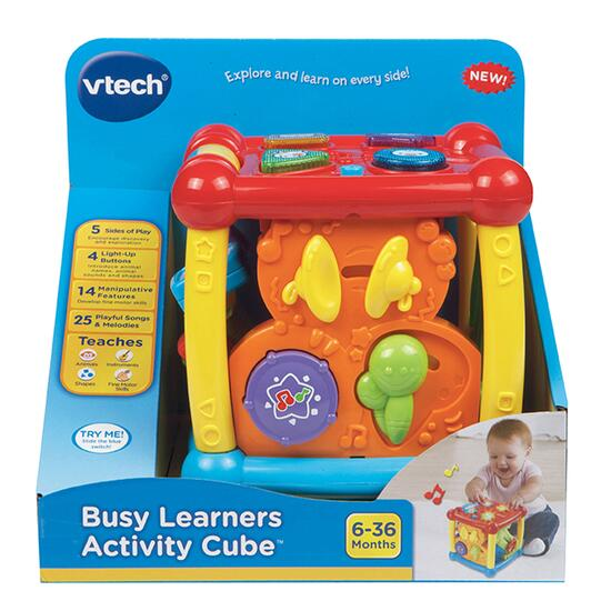 Vtech Busy Learners Activity Cube English Version