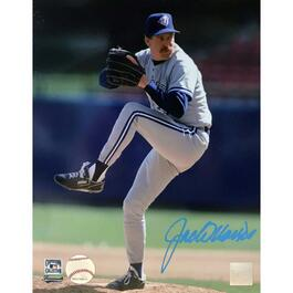 Jack Morris Unframed Signed Toronto Blue Jays Photo - 18in.x22in.