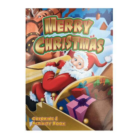 Merry Christmas Colouring and Activity Book