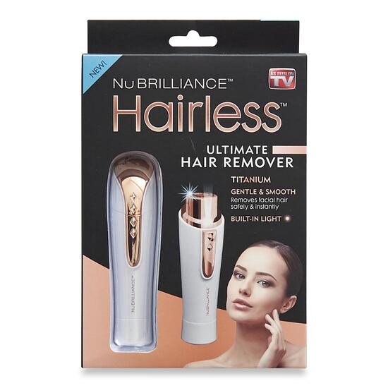 As Seen On TV Nu Brillance Hairless Ultimate Hair Remover